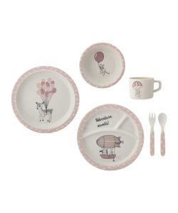 Amelia Kid's serving set Bamboo