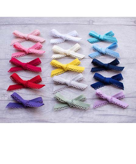 little frill bows
