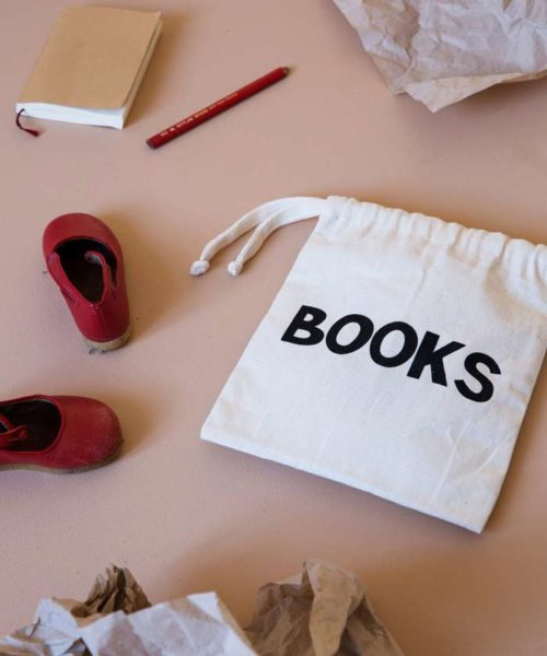 Small Fabric bag - Books