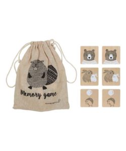 Bloomingville Wooden Memory Game - nature